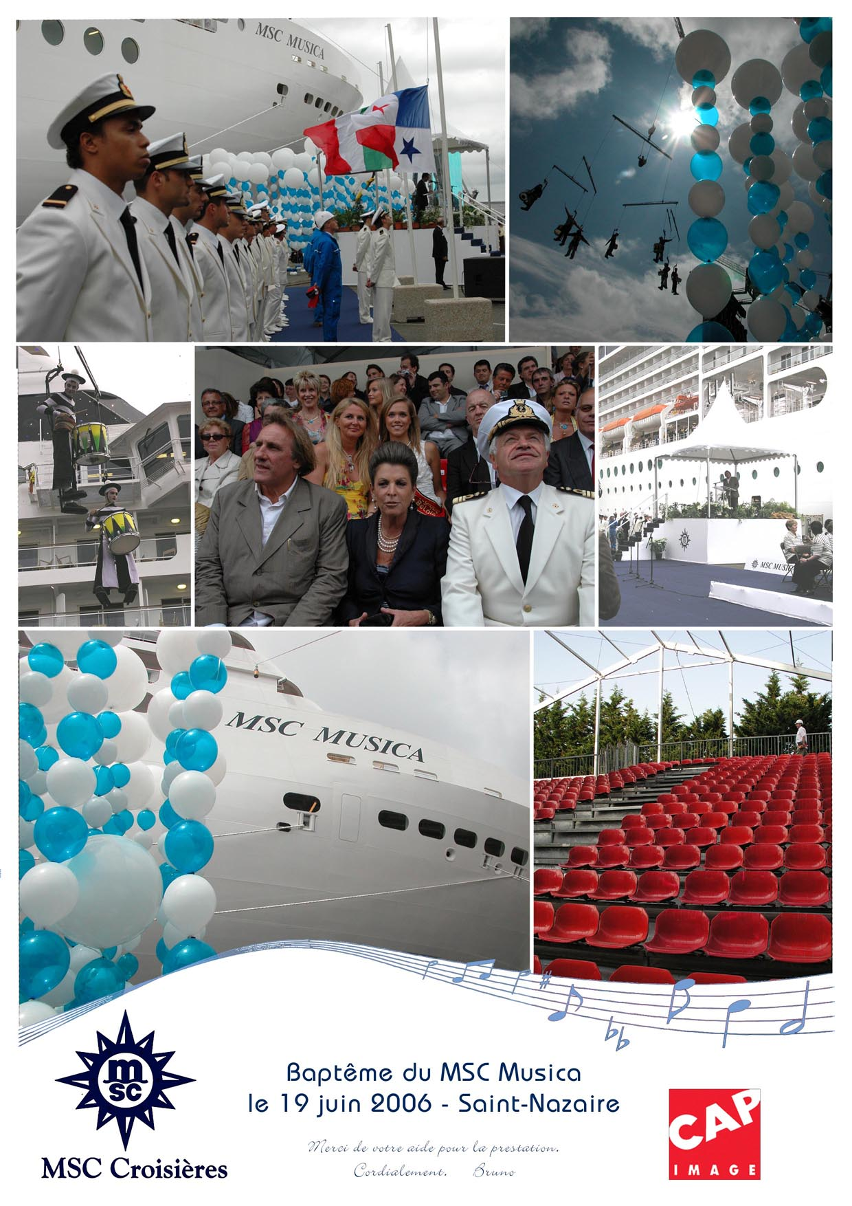 inauguration du paquebot MSC Musica