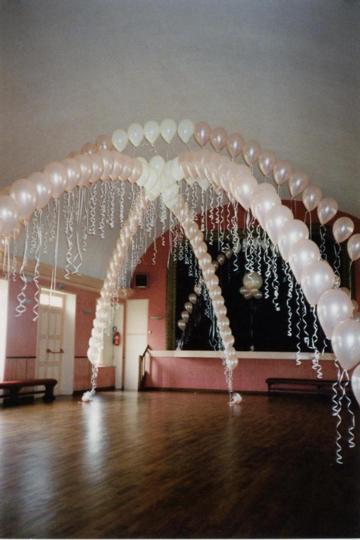 Arches pour la piste de dans