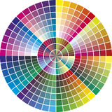round vector color chart printing industry different tones promotion advertising 38349817