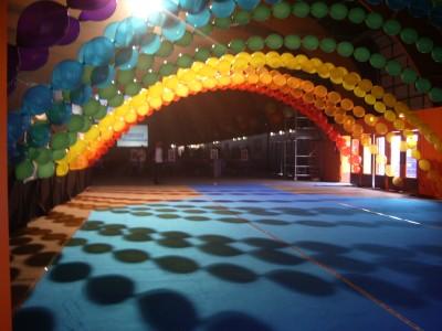 arche d'entrée au Parc des Expo de Rennes