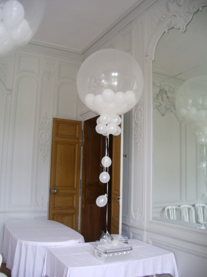 exemple de ballon explosif (photo non contractuelle)