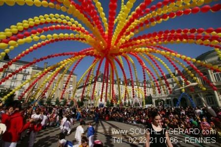 Chapiteau de carnaval
